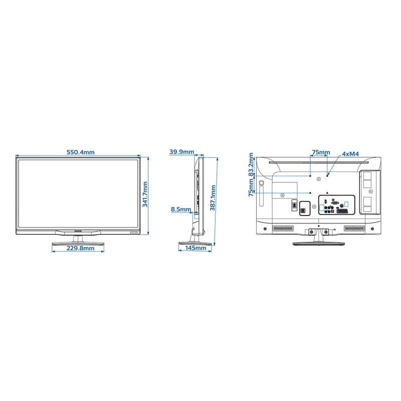 Televizor Medical Philips EasySuite 24HFL3010W