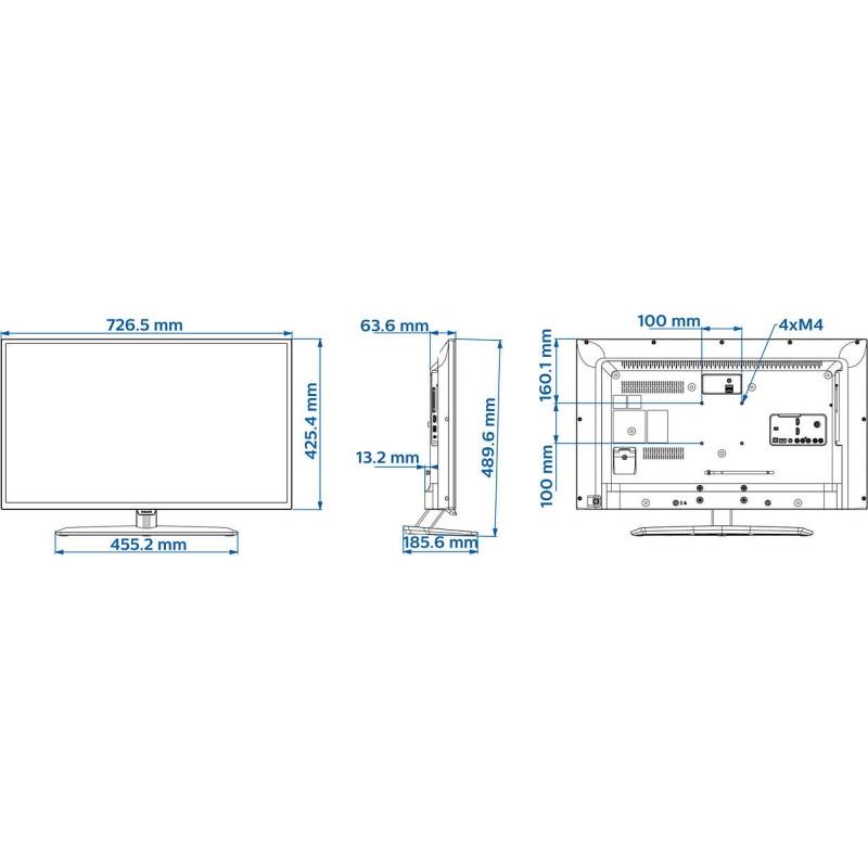 Televizor Hotel Philips EasySuite 32HFL3011T